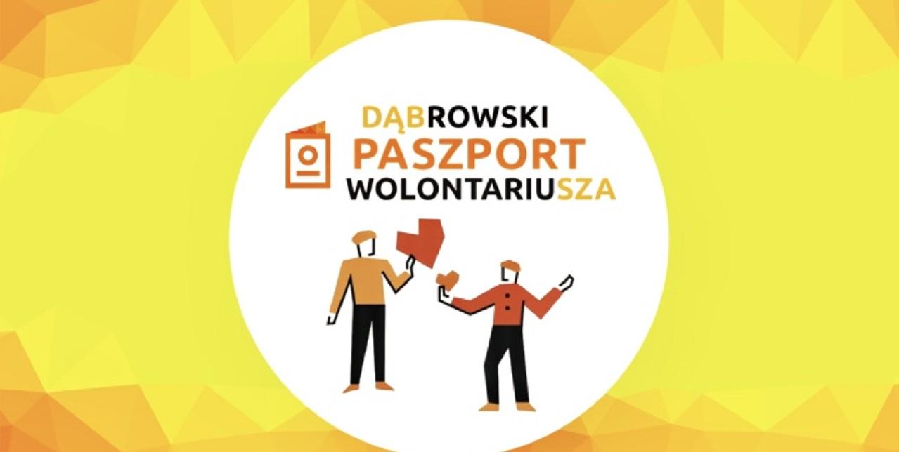 paszport wolontariusza grafika